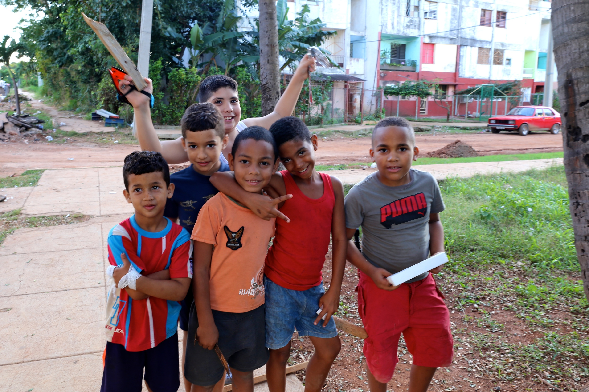 Cuban boys