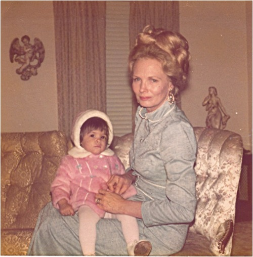 Me and my grandmother, San Antonio, Texas