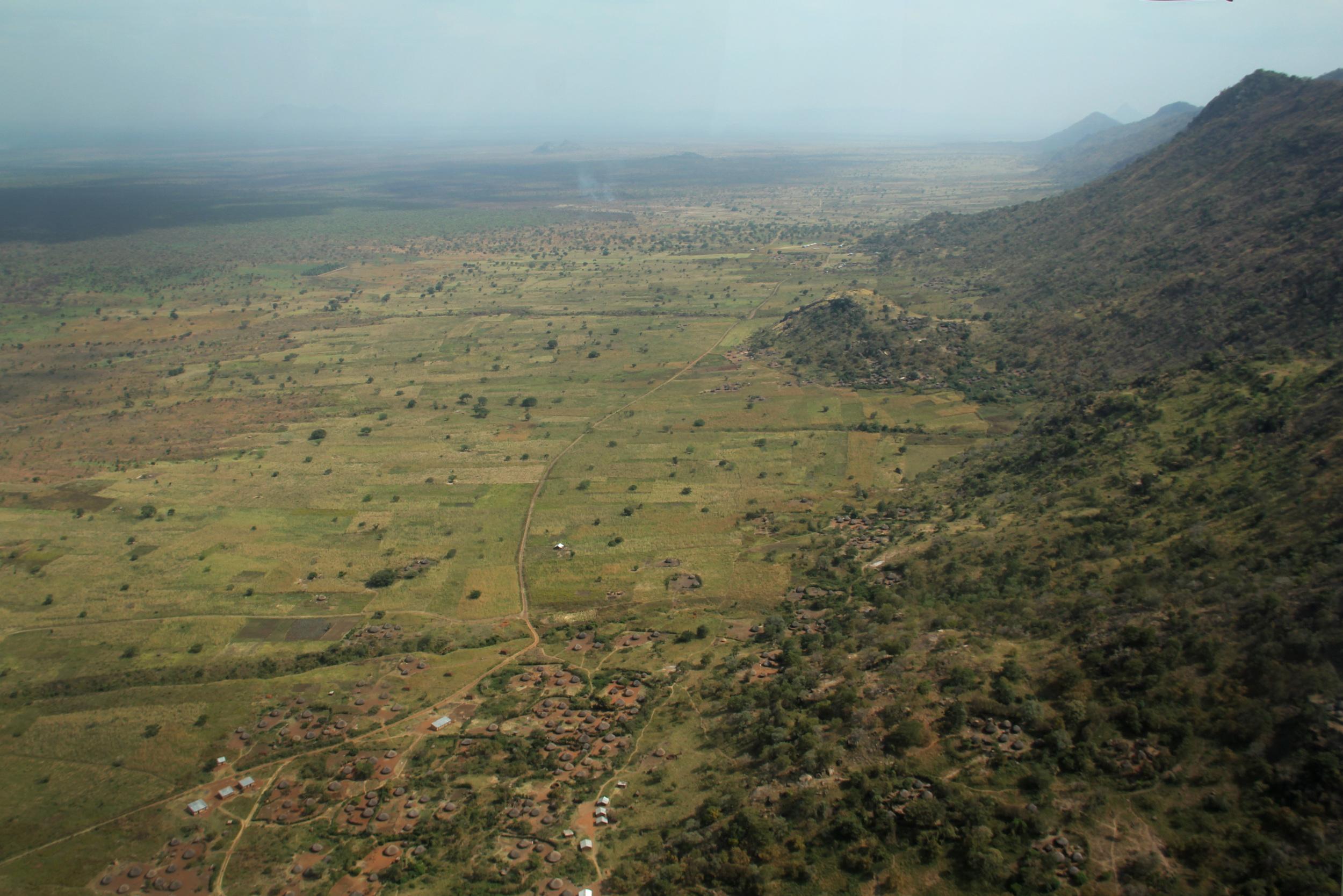 Kidepo plains, Uganda