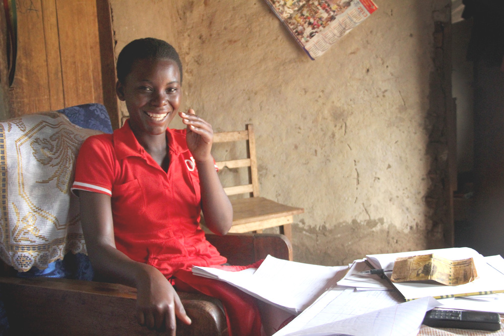 Rose wants to prevent early marriages and school dropouts for girls in her village.