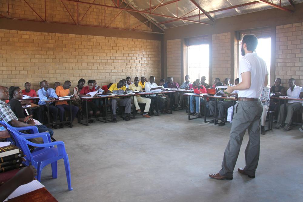 Eric teaches a leadership development class