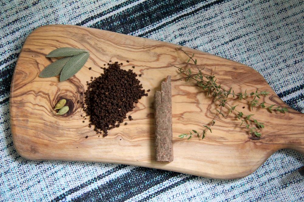 Bedouin tea ingredients