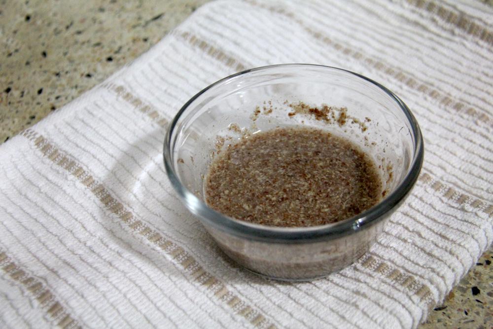 soaking ground flax seed