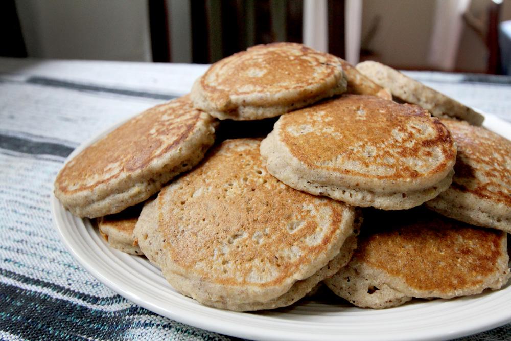 pancakes - gluten free, sugar free, dairy free
