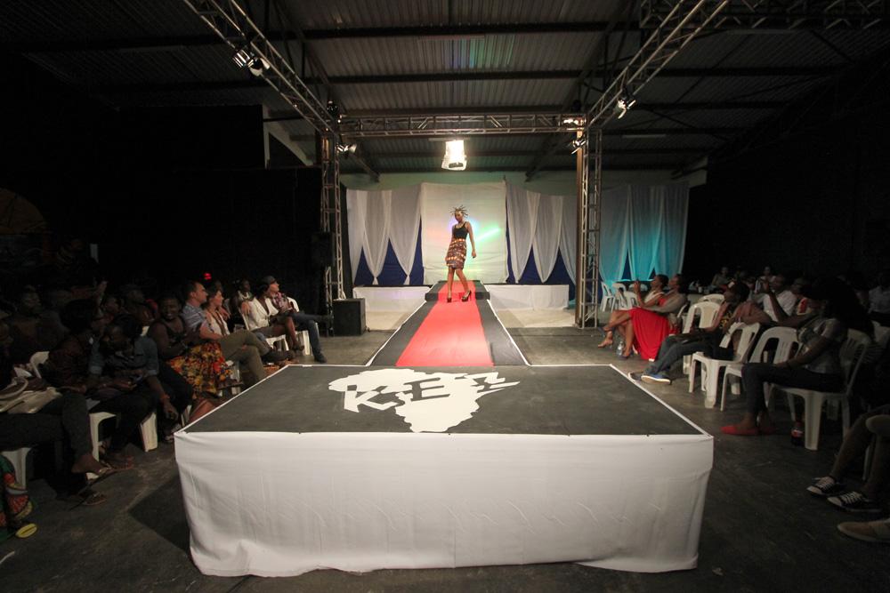 Ugandan fashion show