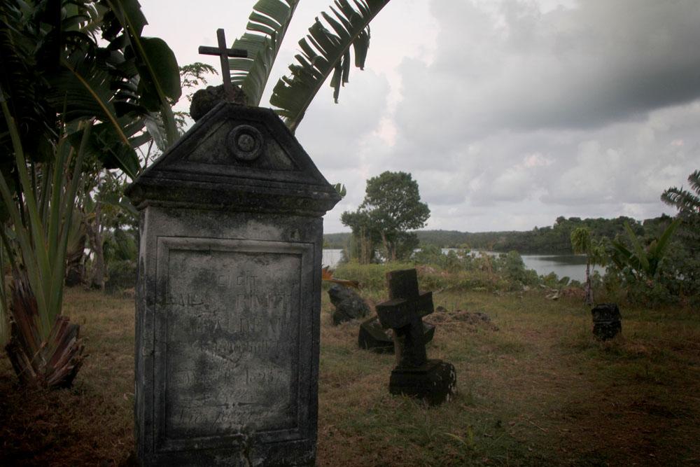 A pirate cemetery on Ile St. Marie, Madagascar