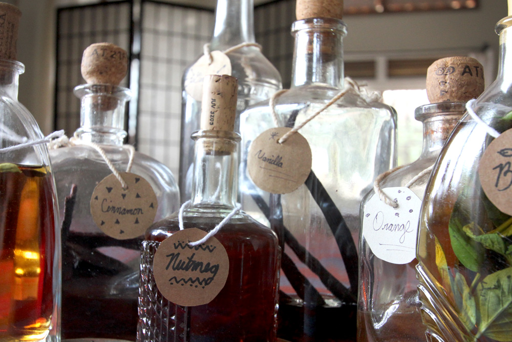 Home-spiced rums