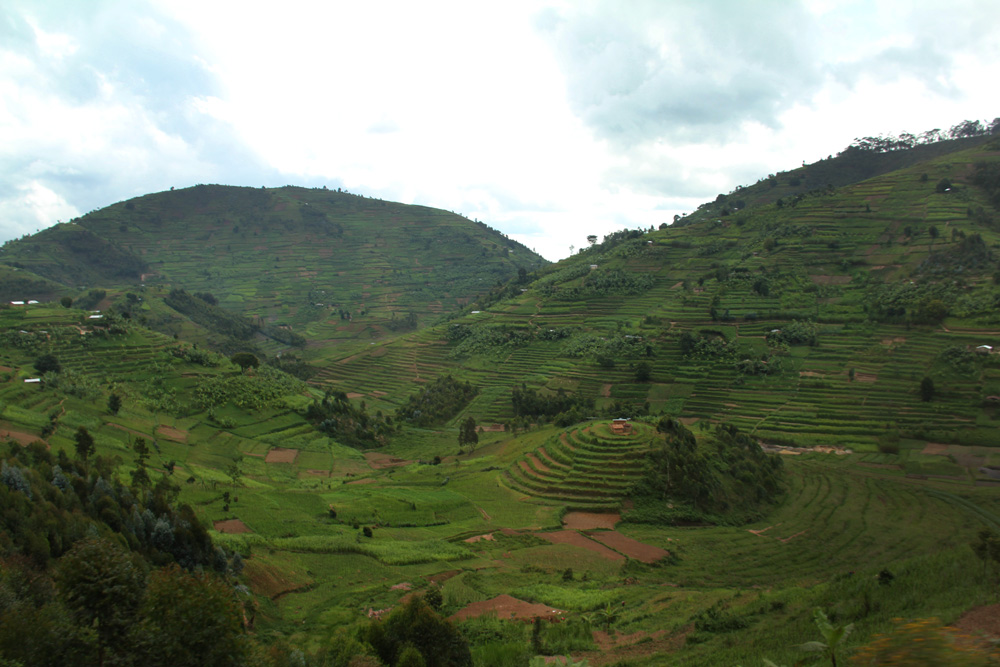 "Rwanda, ""The land of a thousand hills"""