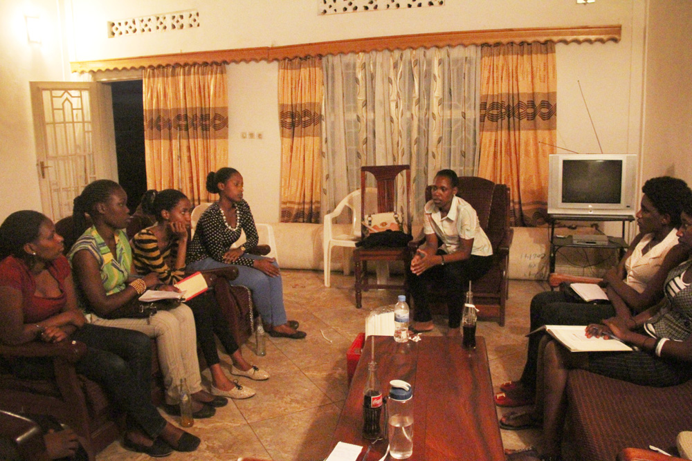 University girls involved in our Africa Youth Leadership Program