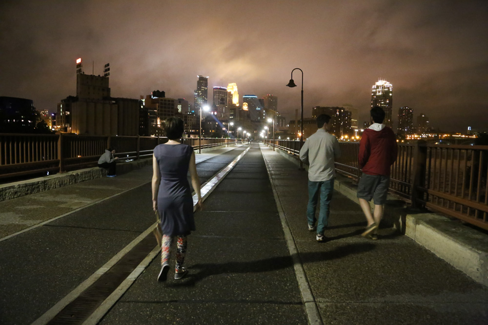 Minneapolis by night