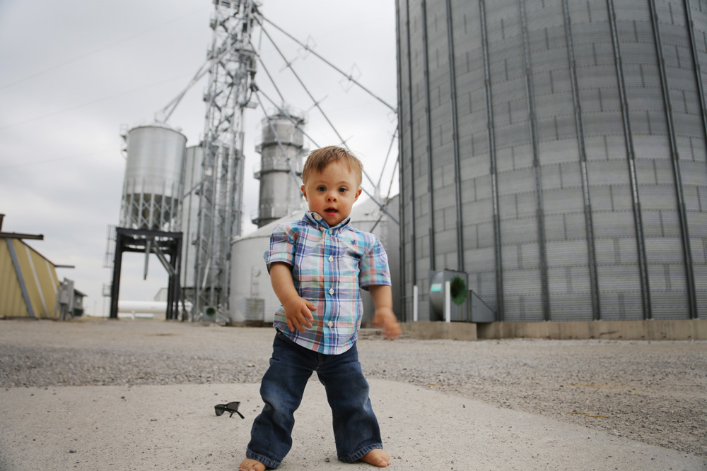 Ryan - the boy who really runs the farm