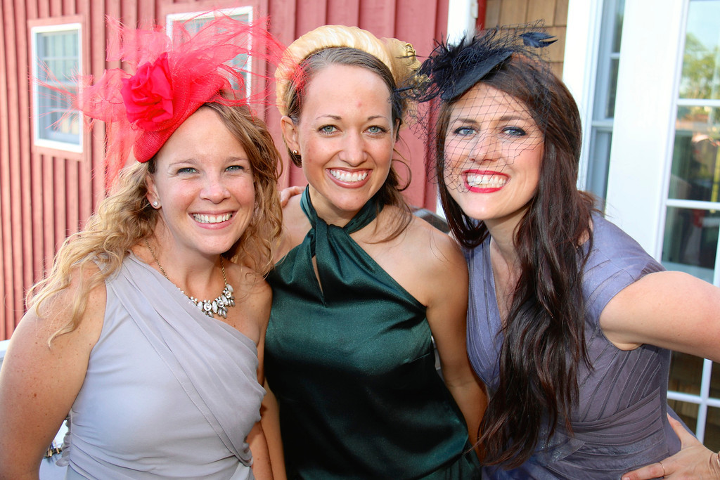 Great friends and our great hats!  Photo credit: Zion Springs Bed and Breakfast
