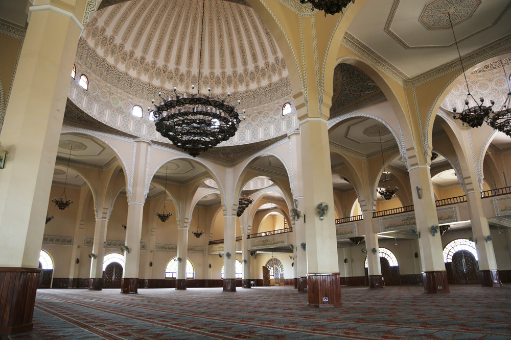 Inside Gadaffi mosque