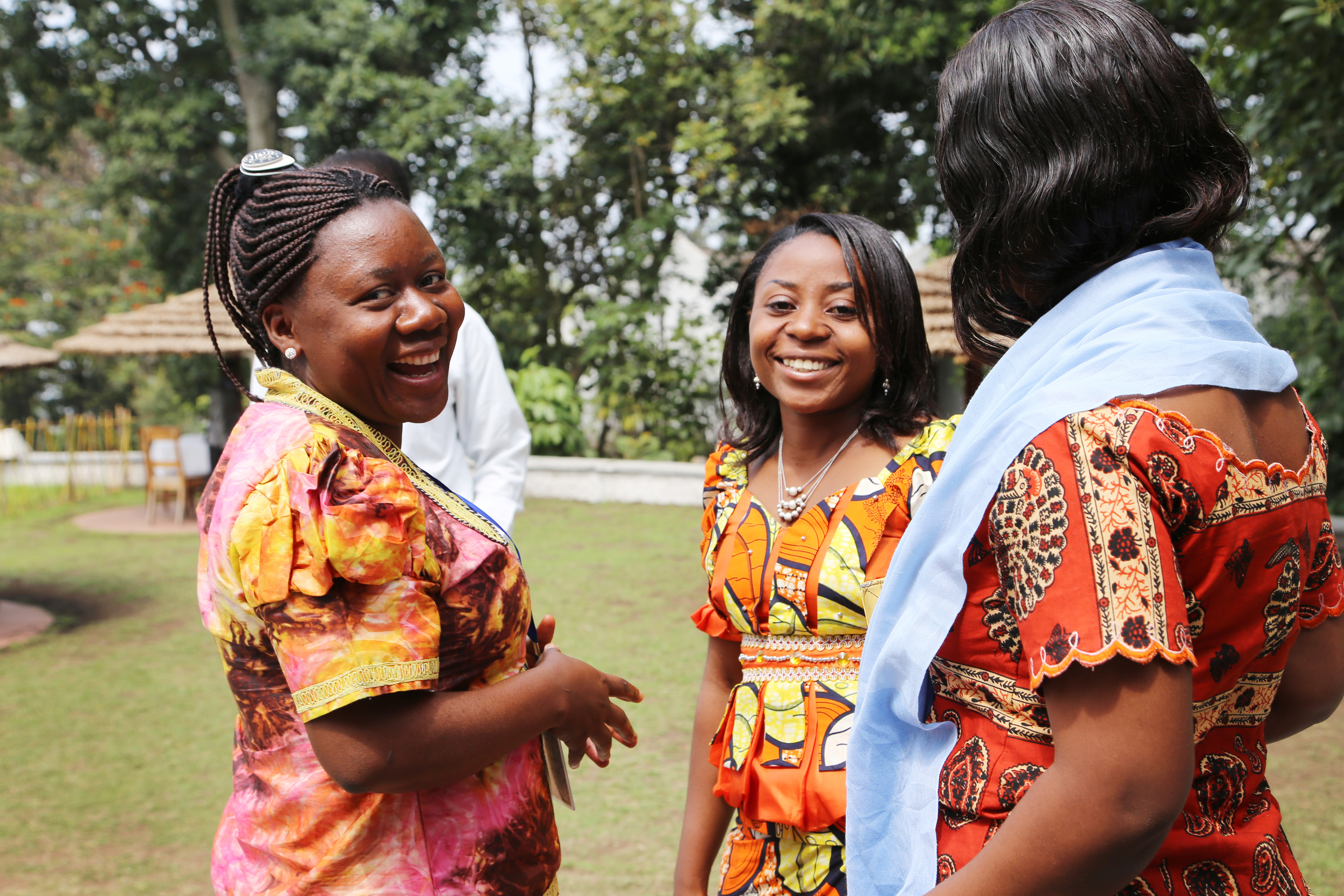 3 Congolese young women AYLF participants