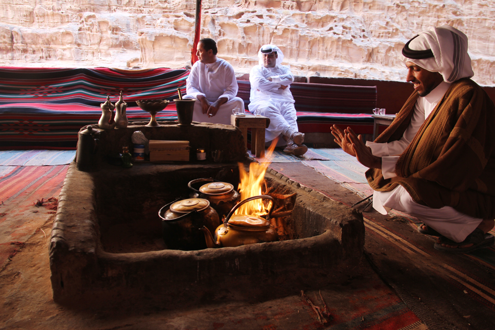 Tea with the Bedouins in Wadi Rum
