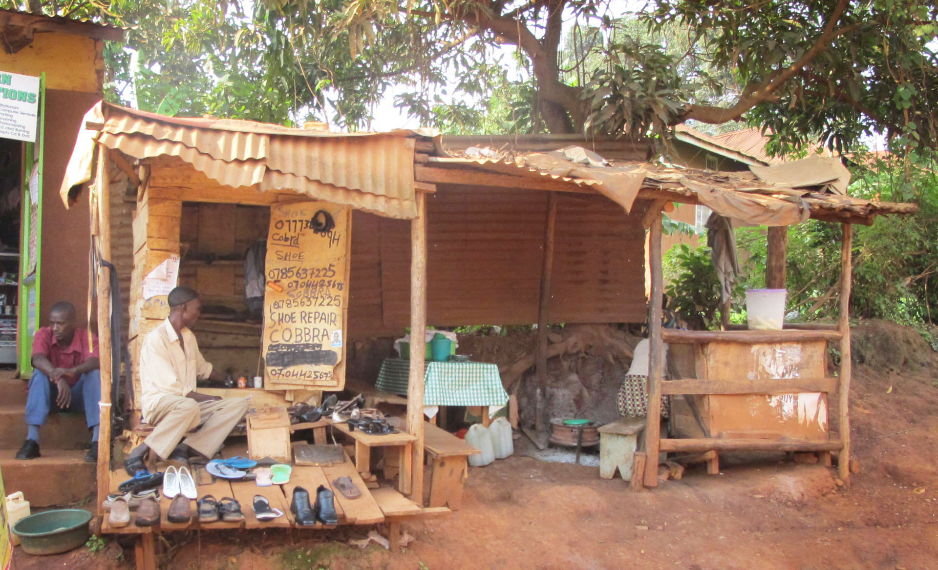 cobbler, Uganda