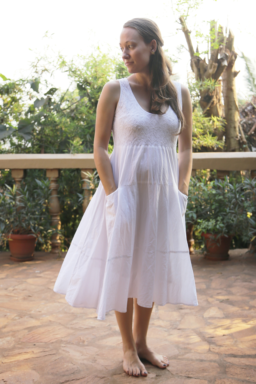 Manvi cotton dress