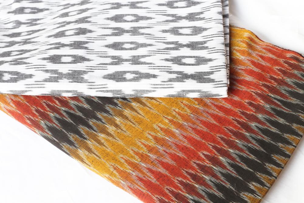 cotton ikat weave