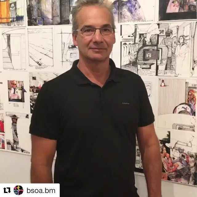 "John @noj.design practices Architecture at Cooper Gardner, a multidisciplinary Architecture and Design firm, and has degrees in Fine Arts and Architecture from the Rhode Island School of Design @risd1877.⠀ .⠀ He was instrumental in the formation of the @bermuda_nationalgallery and has exhibited on numerous occasions in the Bermuda Biennial. ⠀ .⠀ His artistic interests include three stained glass windows at The Cathedral of St John the Divine in New York, a massive sculptural installation of stone cakes celebrating the 400th anniversary of Bermuda's settlement and creating a collaborative installation interpreting the 50th Anniversary of the establishment of the moniker ""Bermuda Triangle'.⠀ .⠀ As an Adjunct Critic he has taught, with Warren Schwartz, at RISD's Architecture Department, an Advanced Architecture Studio in Composite Structures informing a Performing Arts Centre. For the past 20 years John has carried a sketchbook with him at all times.⠀ .⠀ Observing, drawing and noting visual thoughts has been a committed activity during and since his studies at RISD.⠀ .⠀ In the last 7 years, as a result of travelling often, his work has focused prolifically on the experience of flying.⠀ .⠀ @cnntravel acknowledged this work in October 2017 as unique and revealing. John will be sharing insights arising from working uncharacteristically in a mass market, highly regulated and claustrophobic environment.⠀ .⠀ .⠀ .⠀ #tedxbermuda #bermuda #tedx #tedxtalks #tedxspeaker #gotobermuda #ideasworthspreading #connectivity #connect #Architecture #FineArts #RISD #thecathedralofstjohnthebaptist #BermudaTriangle #massmarket #flying #travel #BermudaBiennial #multidisciplinary #visual #CompositeStructures #Arts #Art"