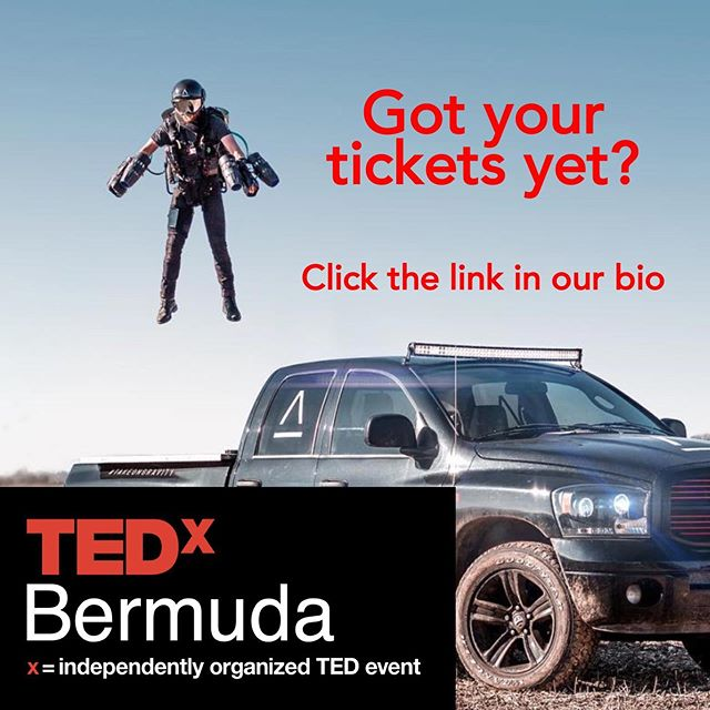 """Learn about how to build and fly a jet suit from real life """"Iron Man"""" Richard Browning at this year's TEDx.  Link in bio"""