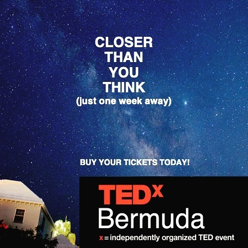 Next Saturday afternoon! Where will you be that is more interesting than TEDx?  Tickets link is in the bio.  #tedxbermuda #bermuda #bermudatourism  #science