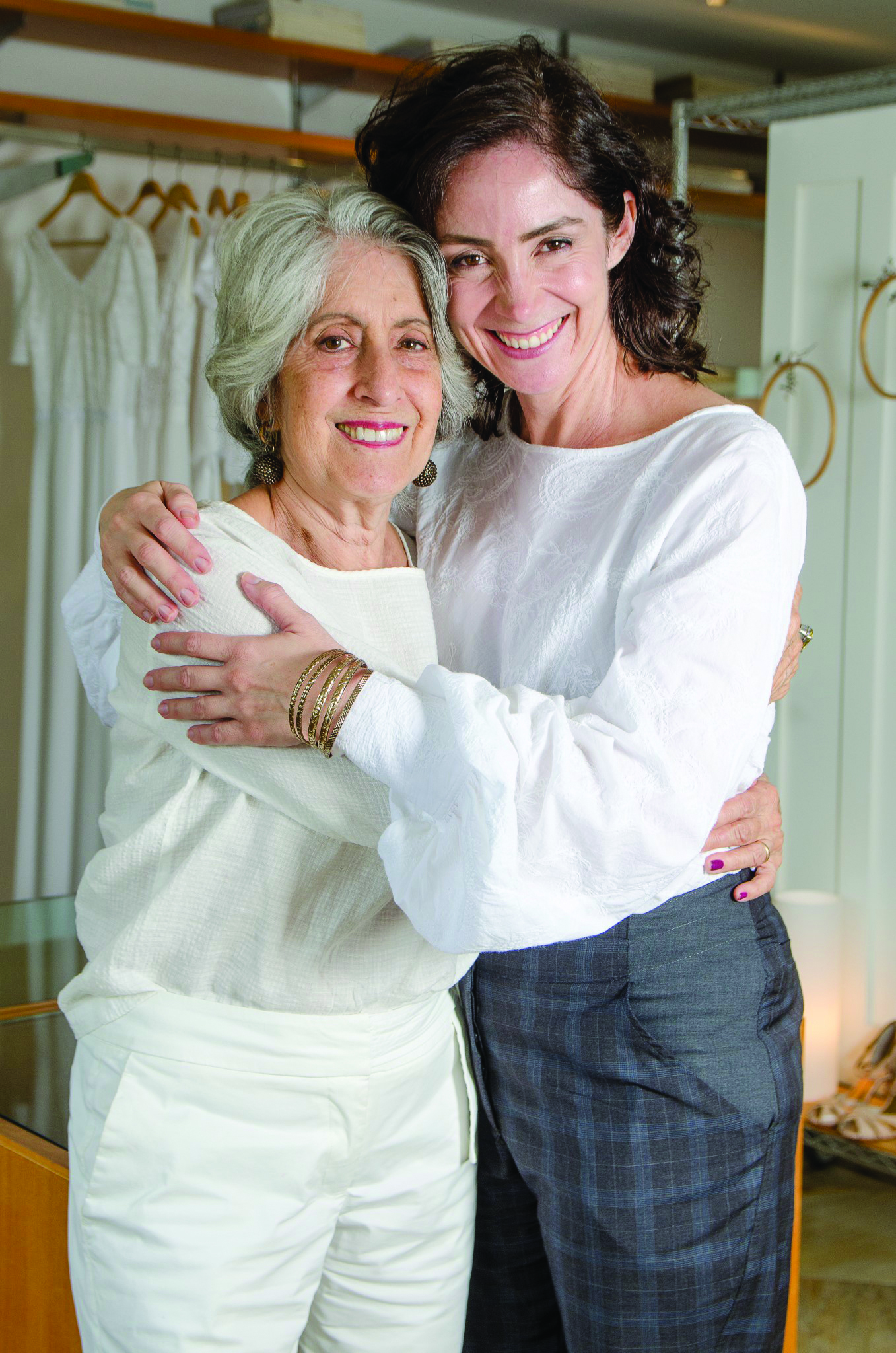 Aparecida e Ana Paula Blanc