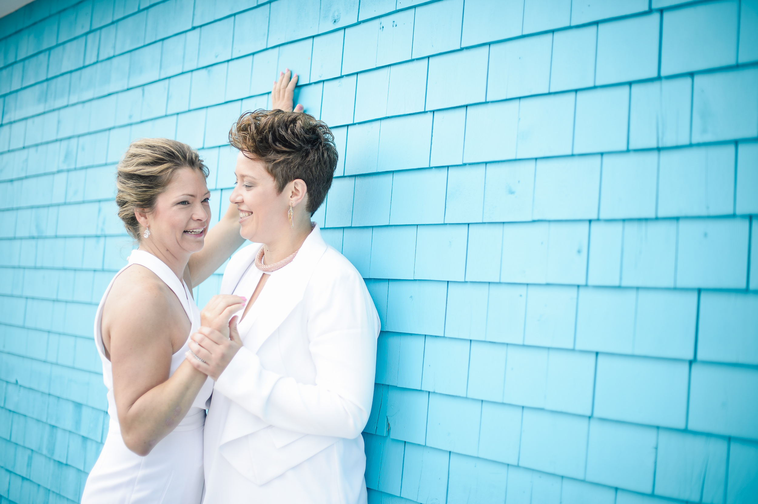 Carole and Jeanne get married in Cocagne, NB