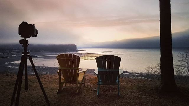 It's looking like a perfect morning in @fundynp. #fundynationalpark ♥️☀️📷⛺