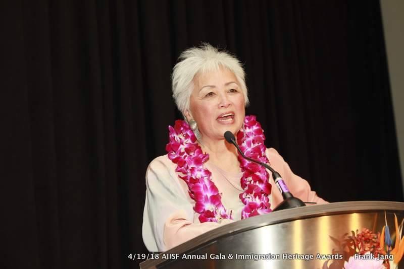 Felicia Lowe - Angel Island Immigration Station Foundation 2018 Gala - Immigrant Heritage Award ceremony.jpeg