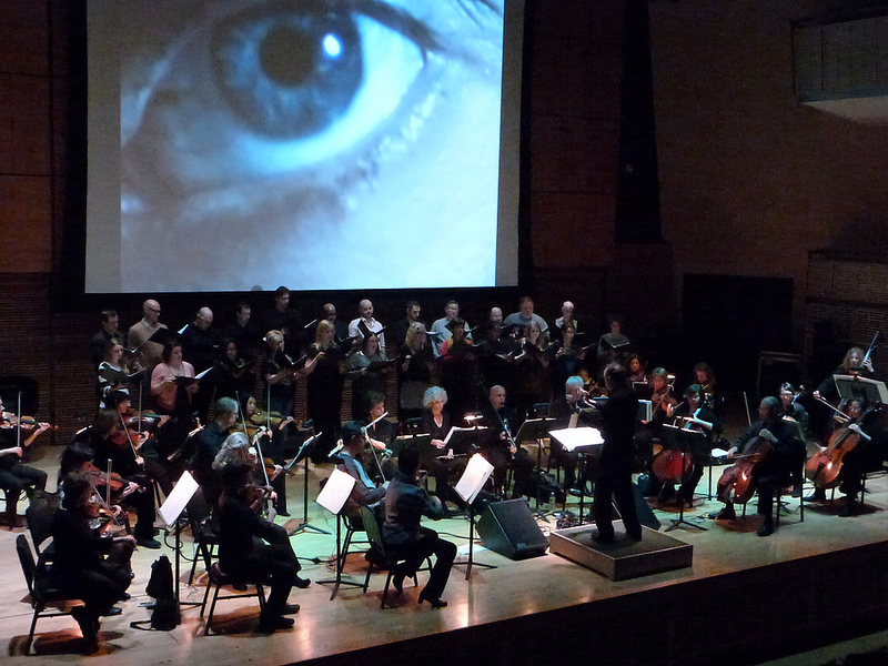 American Composers Orchestra and The Crossing, Feb. 20, 2014 - World Premiere:  strange pilgrims