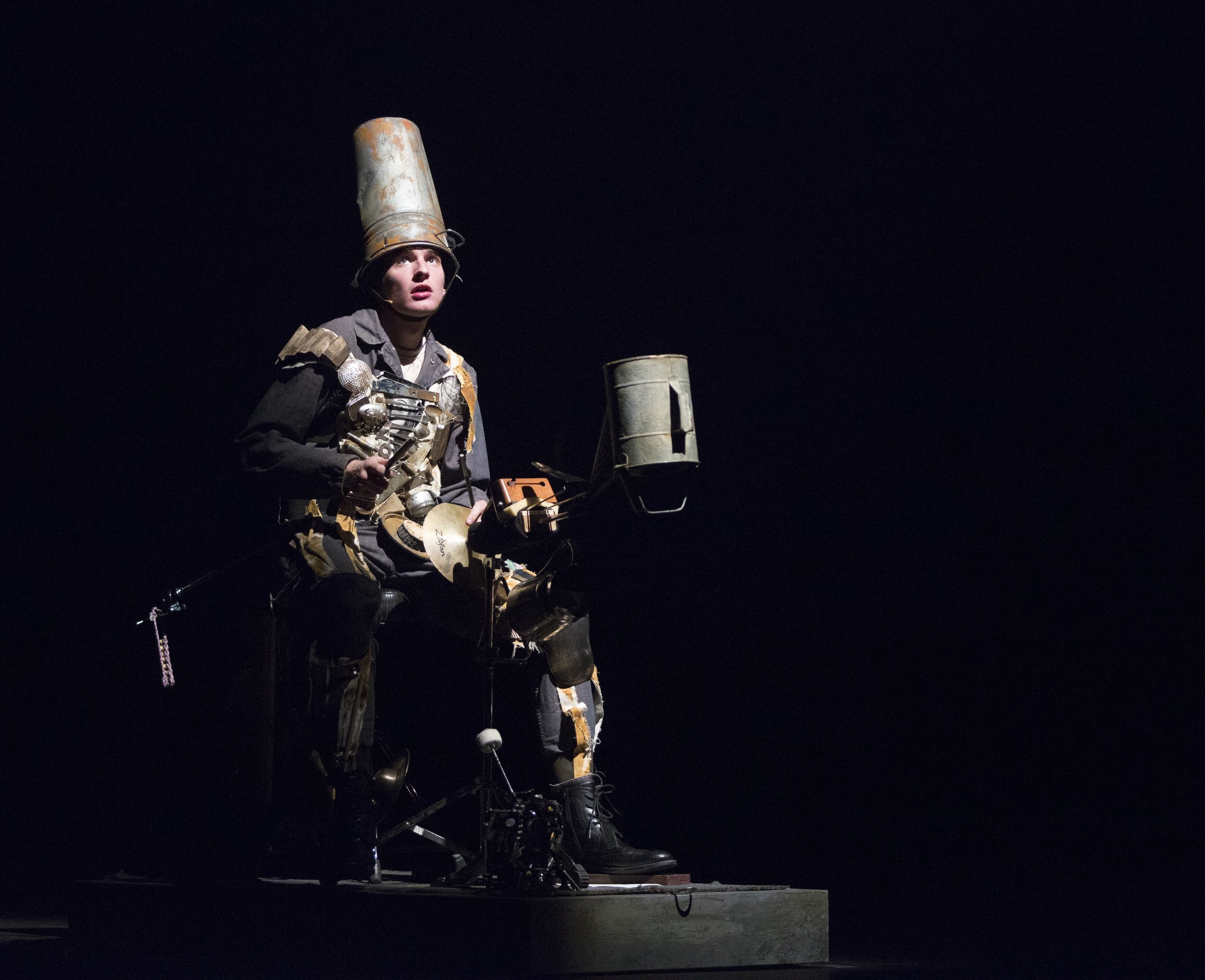 Terry Sweeney (of HOWL and Sandbox Percussion) as Don Quixote.