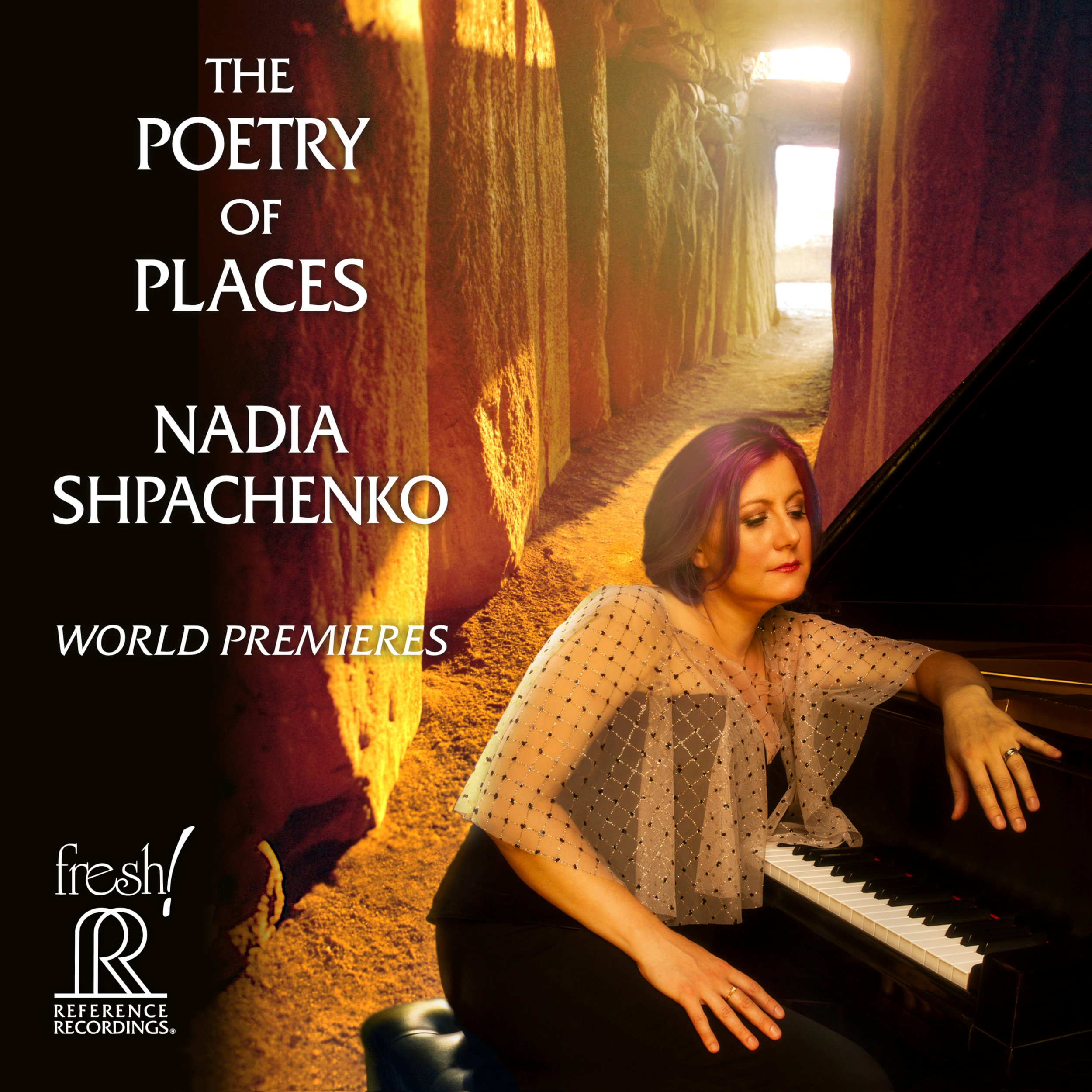 Nadia Shpachenko, piano: Poetry of Places. Includes ABK's  h.o.p.e.  for piano/toy piano/voice. Click image to purchase CD on Amazon (also available as MP3 album).