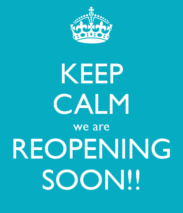 Re-Opening February 2019 -