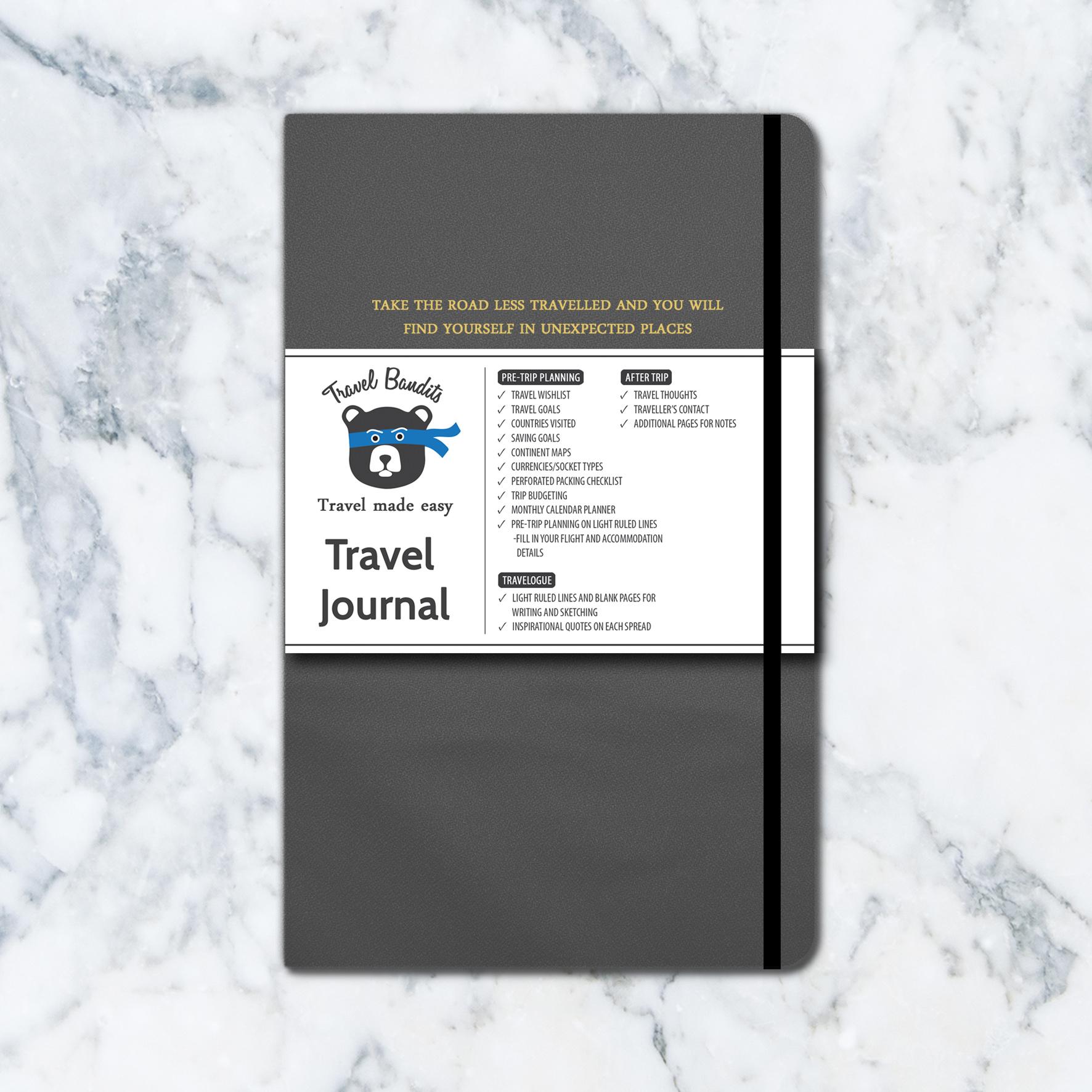 Travel Bandits Travel Journal