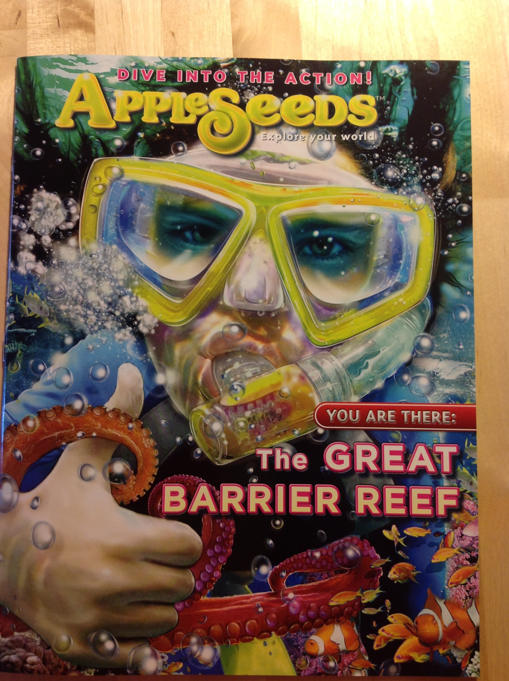 My very first kidlit piece on coral restoration in Appleseeds magazine!