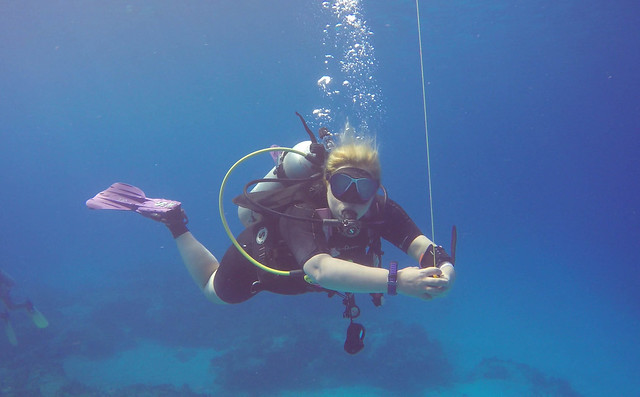 Cozumel, Mexico, Safety Stop // Photo Credit: Neil DeMaster