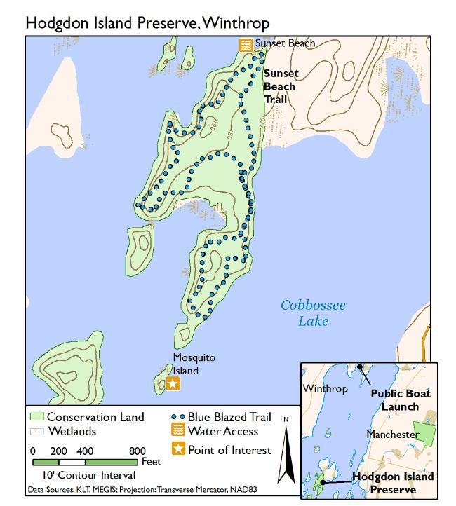 Hodgdon Island Preserve — Kennebec Land Trust on north maine woods map, maine coast map, cliff lake maine map,