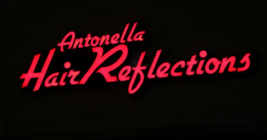 Signs | Antonella Hair Reflections Sign | Hanover, PA