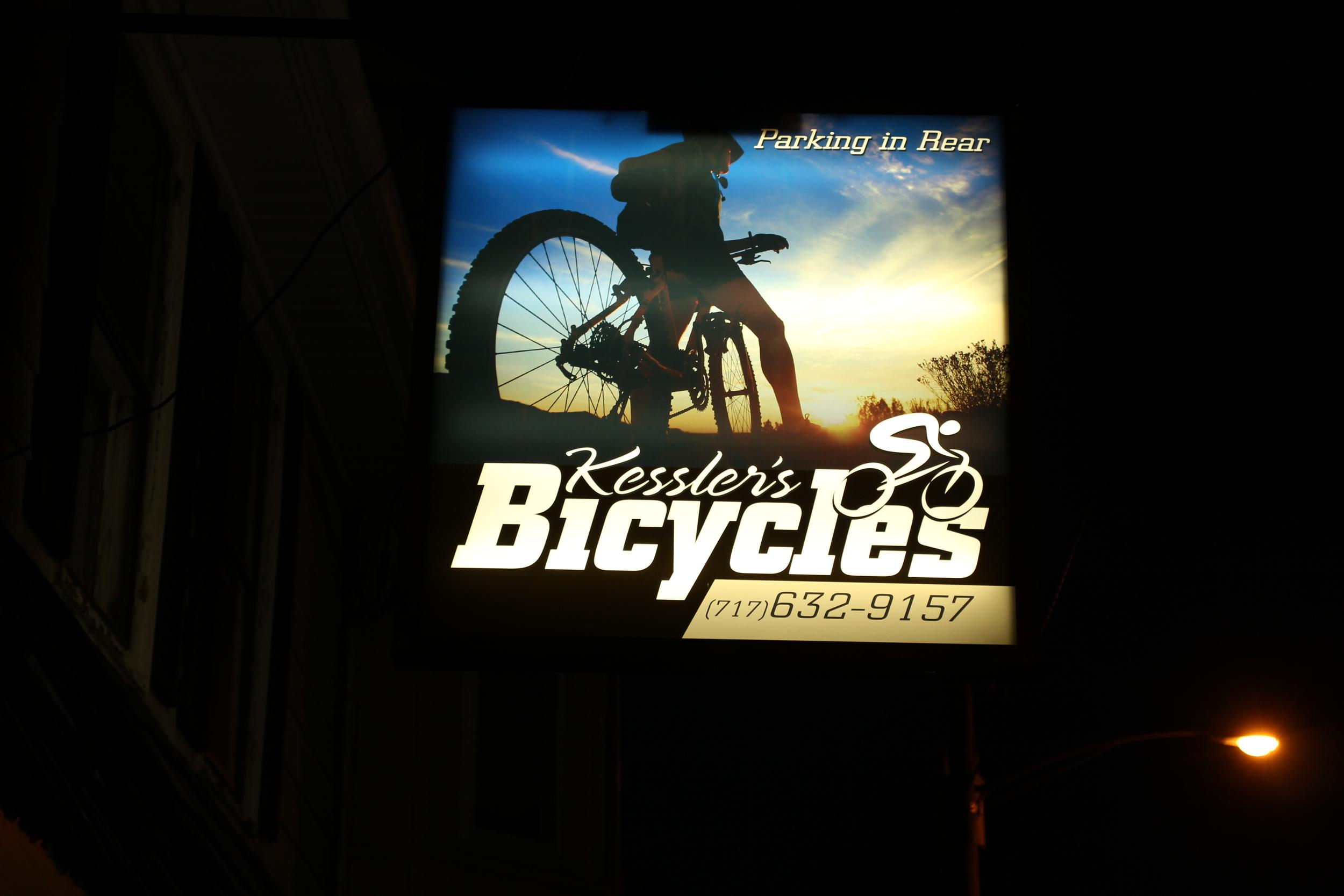 Signs | Kessler's Bicycles Sign | Hanover, PA