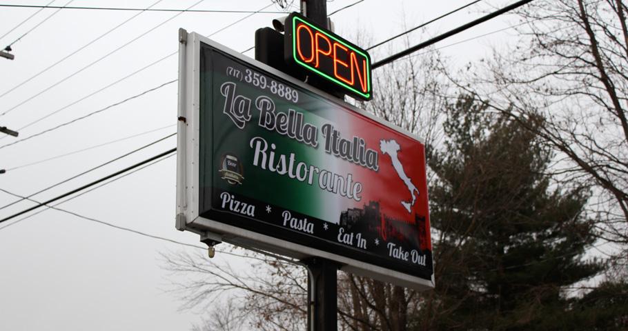 Signs | La Bella Italia Ristorante Sign | Littlestown, PA
