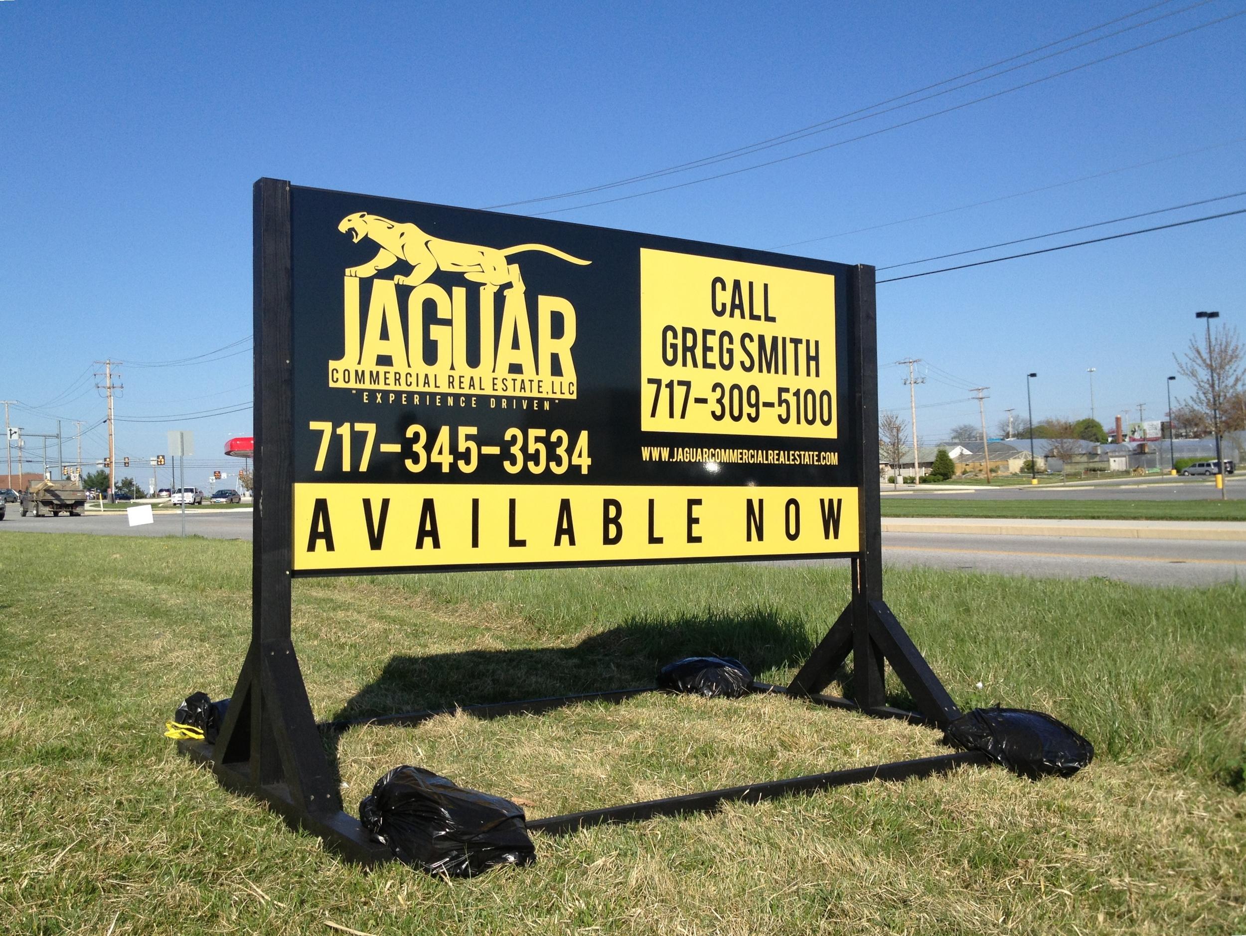 Signs | Jaguar Real Estate Sign | Hanover, PA