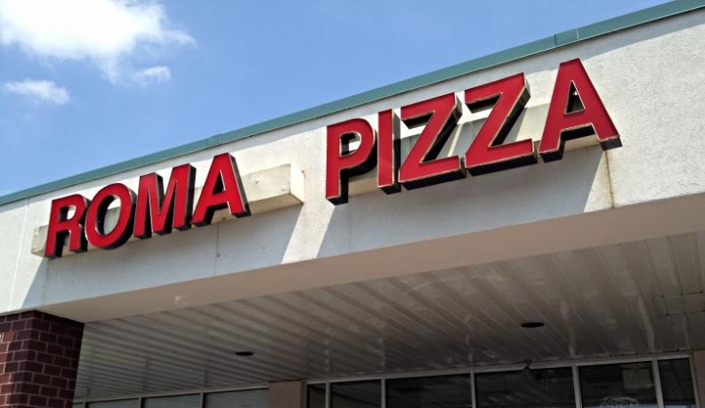 Signs | Roma Pizza Sign | Carlisle, PA