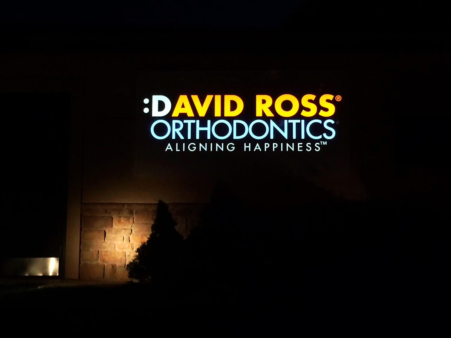 Signs | David Ross Orthodontics Sign | Hanover, PA