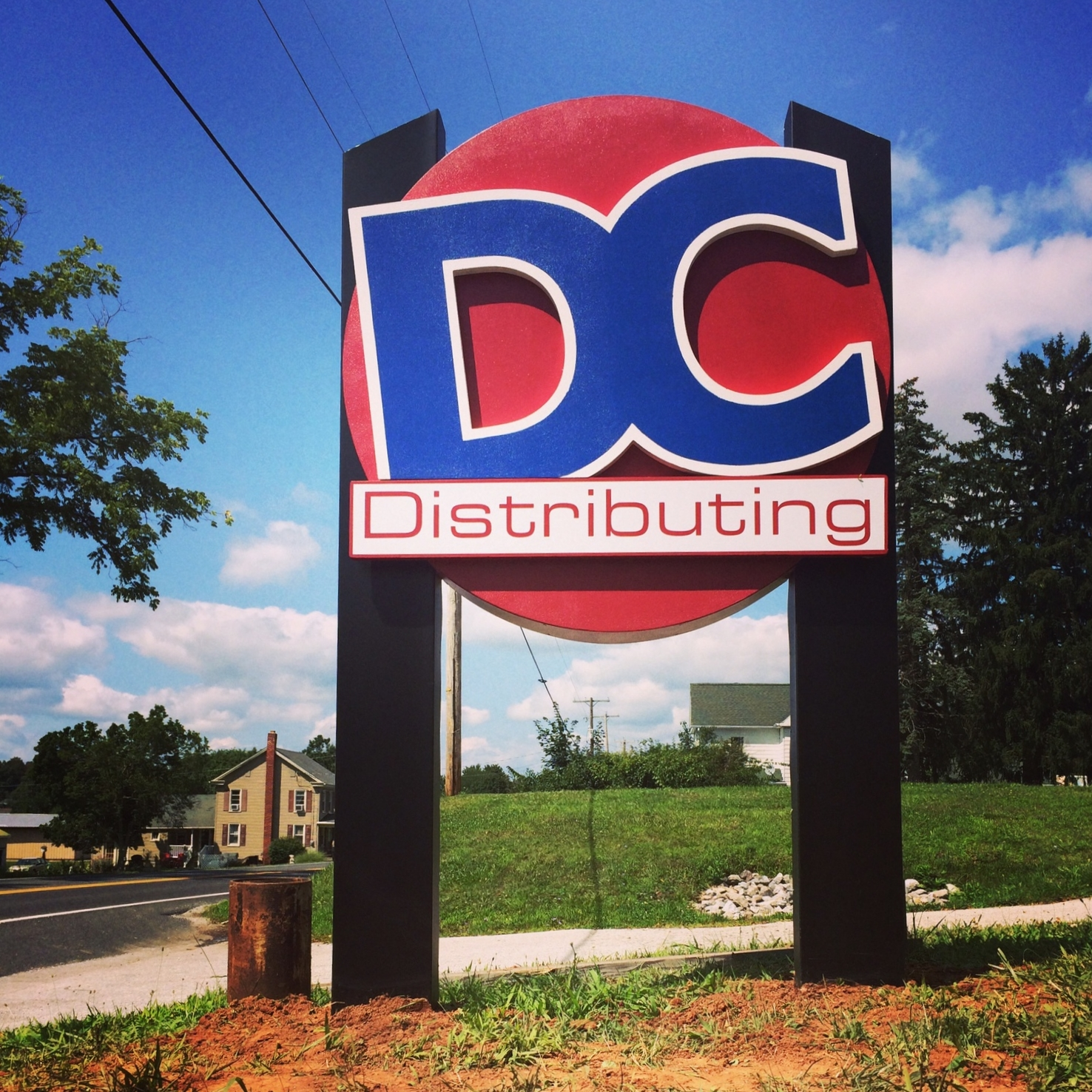 Signs | DC Distributing Dimensional Post Sign | Abbottstown, PA