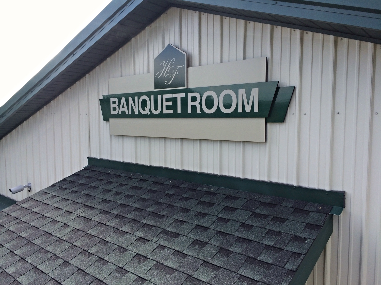 Signs | Hickory Falls Banquet Room Sign | Hanover, PA