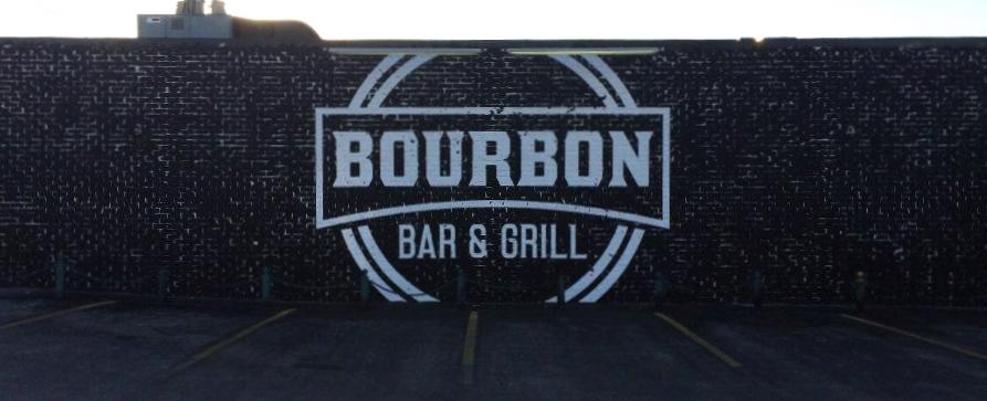 Signs | Bourbon Bar & Grill Wall Mural | Hanover, PA