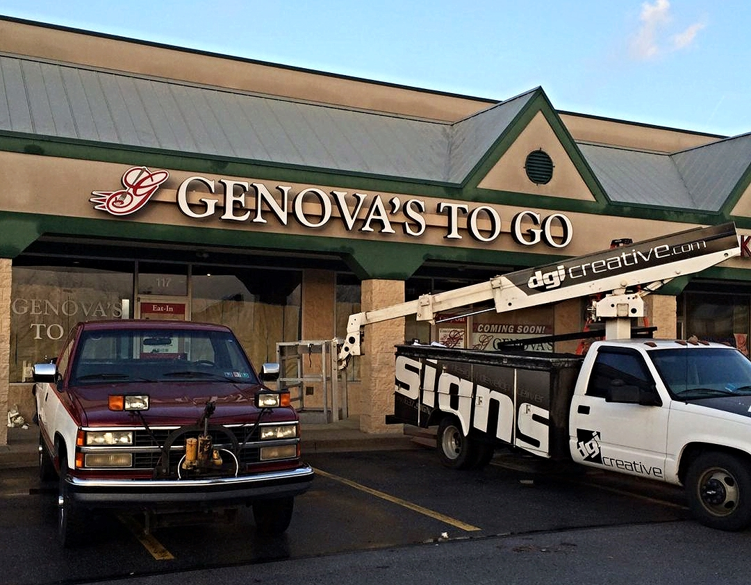 Signs | Genova's To Go Sign | Hampstead, MD