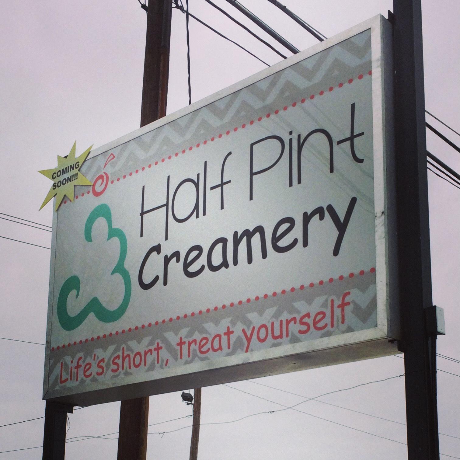Signs | Half Pint Creamery Sign | Gettysburg, PA