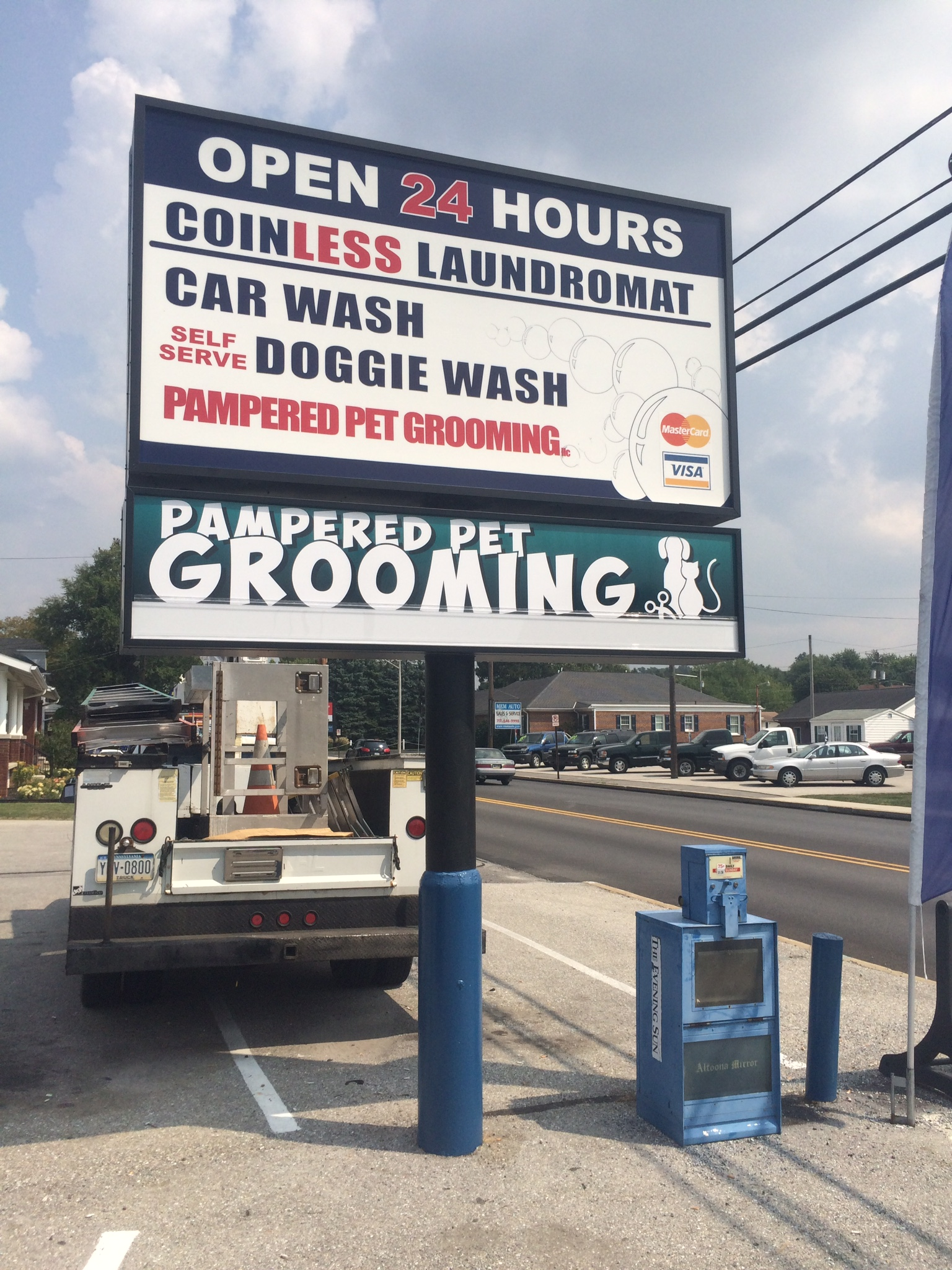 Signs | Pampered Pet Grooming Sign | Hanover, PA