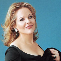 Renée Fleming (Photo by Andrew Eccles)   Dubway's production audio teamed up with PBS station  WGBH  for a film recording of famed mezzo soprano  Renée Fleming  - in a Fifth Avenue apartment, accompanied by a quartet of guitar, cello, violin, and piano. The shoot will air as part of longtime culinary show,  Lydia's Italy .